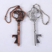 Vintage Eagle Key Shape Bottle Opener Keychain Beer Bottle O...