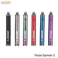 Vision Spinner 2 batería 1650mAh Voltaje variable 3.3-4.8V para 510 Hilo E CIGS Atomizador 100% original