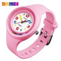 Skmei Kids 어린이 학생 시계 방수 소년 소녀 귀여운 스포츠 캐주얼 디지털 전자 손목 시계 reloj mujer