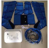 портативный presoterapia детоксикации тонкий давление воздуха ноги массажер давление воздуха тела для похудения костюм оборудование для продажи