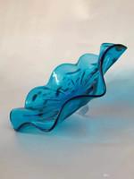 Красивой Продажа горячего Handmade выдувного Glass Art Flower Планшеты Flower Wall Art CE UL Элегантный Тиффани Витражи Настенные светильники