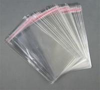 حقائب PE واضح الأغلاق السيلوفان OPP بولي شفاف مقابل حقيبة التعبئة أكياس بلاستيكية لاصقة النفس ختم 4 * 6cm و، 6 * 10cm، 14 * 20CM، 1000