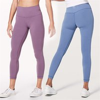 New Arrival lulu style women' s Tights Hi- Rise yoga pant...