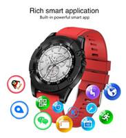 Kamera TF kartı SIM Kart Adımsayar Çağrı ve Mesaj Kutusuna hatırlatın ile SW98 Akıllı İzle Bluetooth Smart Saatler Akıllı Bilezik Bileklik