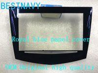 DHL / EMS reale blu touch screen aspetto CUE di alta qualità per auto Cadillac ATS CTS SRX XTS CUE DVD Cadillac display touch digitalizzatore