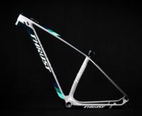 Schubfahrrad chinesischer Kohlenstoff-MTB-Rahmen 29er Bicicletas Mountainbike 29 Fahrradteile Kohlenstoffrahmen 142 * 12 oder 135 * 9mm Fahrrad