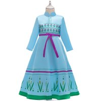 Retail 2020 New kids dress frozen 2 dresses girls christmas ...