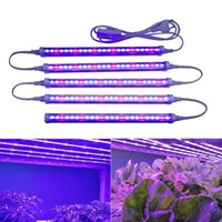 Büyütün Işık Bitki Işık 12W Phyto Lambası büyütün çiçek fide kapalı bitkiler için Bitkiler T5 Fitolampy İçin Işık Büyüyen açtı