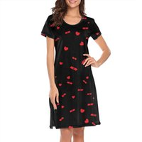 Trendy Womens Drake So Far Red Gone white Plus size shirt dress Retro Slim fit Nighties for Women 2 Black Take Care Cool Nothing Was the