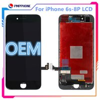 1: 1 oem lcd para apple iphone 6 s 6 p 6 sp 7g 7 p 8g 8 p screen display lcd 3d toque digitador completo com logotipo no flex