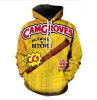 Yeni Moda Rahat 3D Baskı Hoodies Backwoods Erkekler / Kadınlar Sonbahar ve Kış Kazak Hoodies BC040
