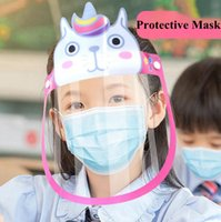 Kids Anti Droplet Protective Mask Cartoon Animal Child Face ...