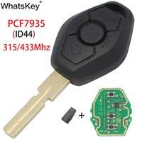 WhatsKey السيارة عن بعد شفرة مفتاح ريموت كنترول نظام EWS لE46 E38 E39 E90 X5 Z3 Z4 1/3/5/7 سلسلة 315 / 433MHz وID44 رقاقة HU58