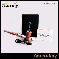 Kit originale E-Pipe Kamry K1000 Plus Batteria incorporata 1000mAh K1000 Plus Atomizzatore E Tubo Mod Max 30W Uscita Vape Kit E-sigaretta