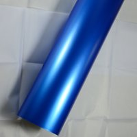 Pearl blue Matte vinyl wrap for car wrap With Air Drain Top ...