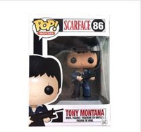 China FUNKO POP! #86 SCARFACE TONY MONTANA VAULTED RETIRED Figuras de Acción de juguete para la muñeca del bebé