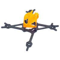 Diatone GTB229 CUBE Finger versione 110 millimetri Spessore 2mm braccio in fibra di carbonio 3K Kit cornice per stuzzicadenti FPV corsa Drone - Orange