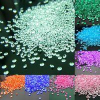 100 unids/set 4,5mm boda fiesta artesanía diamante decoración acrílico cristales Bling confeti evento  Party Supplies decoración festiva