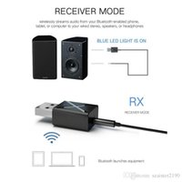 2 in1 Bluetooth Receiver Transmitter 3.5mm AUX 5.0 Adapter For Headphone Speaker Wireless Audio TV