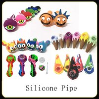 Silicone Pipe 16 Kinds Silicone Smoking Pipes Water Hookah B...