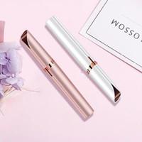 Nouveau design électrique Sourcils Tondeuse Maquillage Indolore Sourcil épilateur Mini rasoir Rasoirs portable visage épilateur pour les femmes