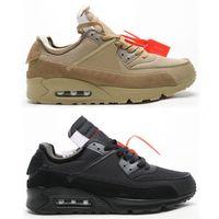 Marca 90s Mens formatori per Uomo Nero scarpe da tennis delle donne Deserto Ore scarpe da corsa delle donne di sport Scarpe uomo Athletic Shoe Woman Jogging