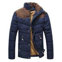 DIMUSI Vêtements Veste d'hiver Homme chaud causales Parkas coton col fasciée Veste d'hiver Homme rembourré Pardessus-vêtement, YA332