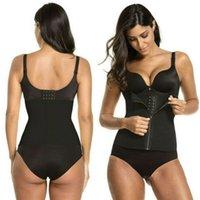 Hirigin mujeres que adelgaza la talladora del cuerpo de la correa de la cintura de la panza de control Trainer transpirable ropa interior del vientre de modelado Fajas
