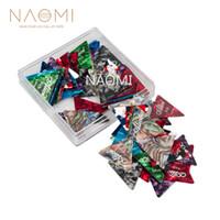 NAOMI Pics Guitare 100L Alice Triangle Picks Celluloid 0.46-0.81mm Pics Guitare Pour Guitare Électrique / Acoustique Pièces Accessoires Neuf