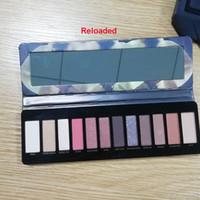 2020 Nude Palette Shadow Palette Maquillage Nude 1.2.3.4.5.7.8.Heat Miel de cerisier Reloaded Palette 12 Color Ofshadow Cosmétiques