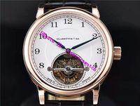 GF 공장 1815 투르 730.032 남성용 시계 스위스 L102.1 수동 와인딩 기계식 시계 18K Gold 계 사파이어 방수