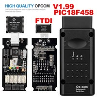 OPEL OPCOM V1.99 z PIC18F458 FTDI OP-COM OBD2 AUTO OBD Diagnostic Diagnostic Tool OP Can Can Interface Kit Software USB Aktualizacja
