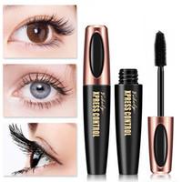 ViBely Xpress Control Fibre de soie 4D Mascara Everabiling Volume Volume Curling Maskara Longue Cadûts de l'oeil durable Maquillage