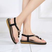 Women' s Fashion Summer Sandals Round Head Roman Casual ...