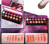 Sıcak 18 Renk Çıplak Göz Farı Pallete Su geçirmez Göz Farı Paleti Fırça Göz farı Palet Kozmetik Makyaj