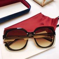 جديد الموضة للنساء العلامة التجارية مصمم النظارات الشمسية 5886 إطار بسيط للأشعة فوق البنفسجية 400 الصيف حماية الهواء الطلق النظارات النظارات الجملة شعبية