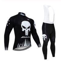 2019 Cycling Jersey Shirts Long Sleeve Thermal Fleece Winter...