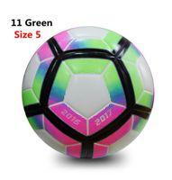 Bola de futebol de alta qualidade Oficial Tamanho 5 Football Bola PU futbol Seamless jogo-treino Equipamento do futebol antiderrapante