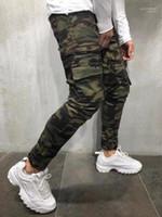 Pencil Pants Spring Autumn Pants Designer Jogger Trouser Mens Camouflage
