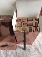 Em estoque! Lápis de sobrancelha 5 cor de moda médio marrom ébano chocolate marrom escuro marrom macio marrom sobrancelha skinny brow liner liner epacket