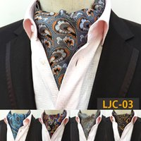 Mens cravat ties Vintage Wedding Formal Cravat Scrunch Self ...