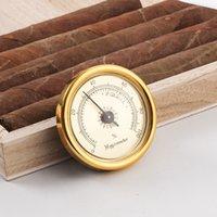 Mini Precision Cigar Hygrometers Plastic Moisture Detector 44mm Diameter Cigarette Hygrometer Fit Dry Herb Guitar Piano File Box Waterproof
