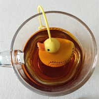 Little Yellow Duck Silicone Tea Infuser Strainers Filter Yel...