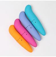 Potente Mini G-vibrador del punto de bala de pequeño estimulador del clítoris Dolphin huevo vibrante juguetes para la mujer productos adultos del sexo