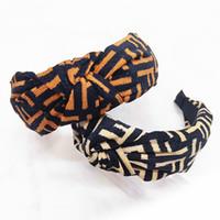 Nueva Moda Mujeres Leopardo Accesorios Para el Cabello Damas de Tela Nudo Cross Tie Diadema Twist Hairband Banda de Aro de Pelo Al Por Mayor