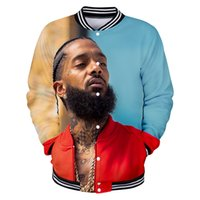 Nipsey Hussle 3D Printed Baseball Jackets Women Men Fashion ...