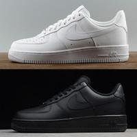 1b49d9e684 Comprar marca airlis mens das mulheres sapatos de grife sneakers af1 todas  as forças do preto branco 1 um baixo alta à venda