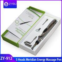 Nouvelle arrivée masseur 5 têtes électronique acupuncture stylo de massage méridien énergie guérir massage santé du corps massage méridien énergie stylo