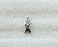 300PCS Cancer Awareness SPERANZA Ciondolo con ciondoli a forma di nastro a vari colori per uomo europeo Donna Gioielli Collana Orecchini a bracciale Accessori