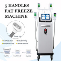 5 Griffe Fat Freeze-Maschine Professionelle Cryolipolysis Schlankheits kühle Body Shaping Cryolipolyse Fat Freeze-Lipo Behandlung Body Contouring